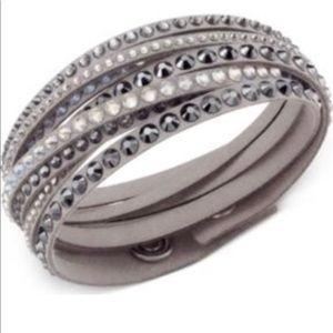 100% authentic swarvoski wrap bracelet.